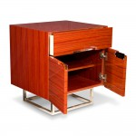 Kotta Side Table - Red Sandalwood 2